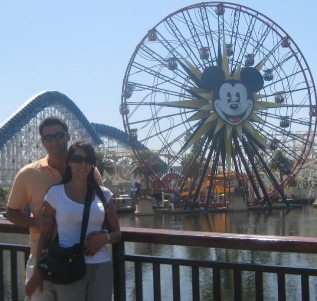 At Disneyland