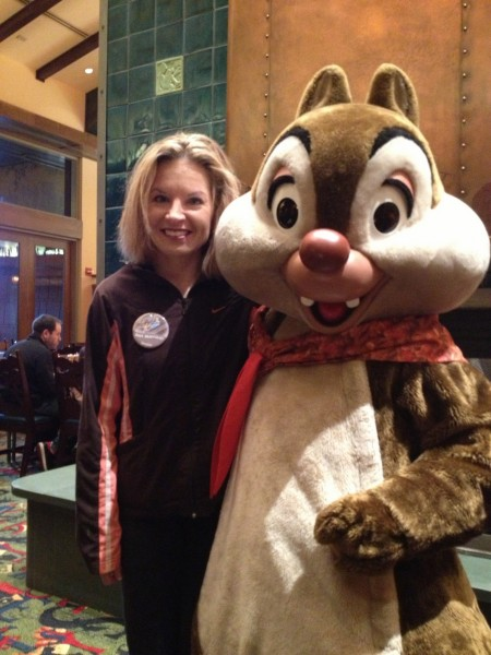Chip or Dale? at breakfast