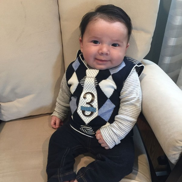 Little man is 3 months old