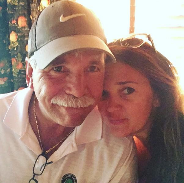 Aubrey and dad