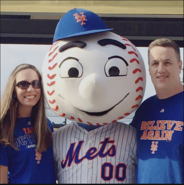 Let's Go Mets! Can't wait to bring a little one to games!