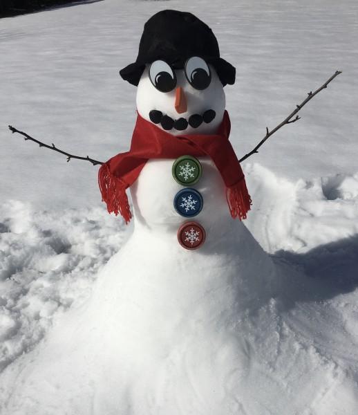 Lots of fun making snowman