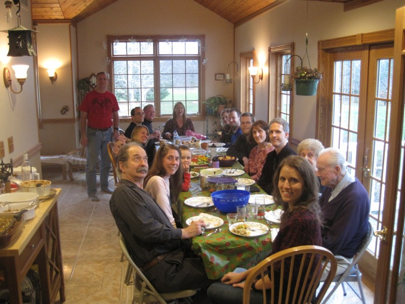 Thanksgiving with Katie's Family November 2017