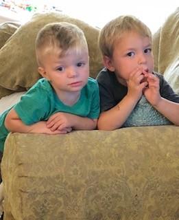 Cousins Evan and Ari