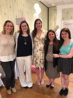 Baby shower for one of Erin's best friends.