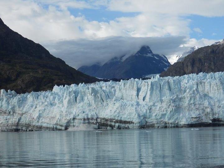 Beautiful glacier we saw in Alaska