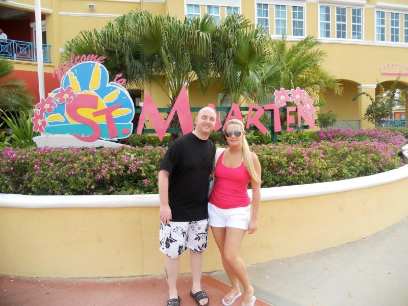 Honeymoon cruise St.Marten