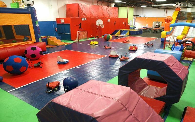 Children's play gym