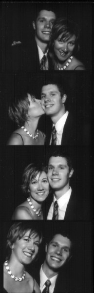 Photobooth fun at a wedding