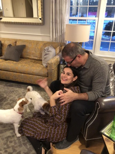 Thanksgiving 2018 with doggies