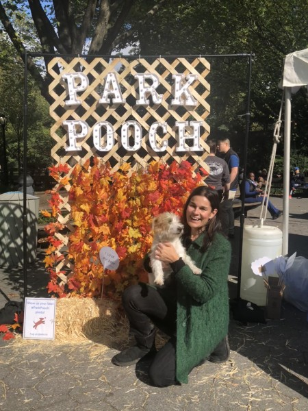 To the My Dog Loves Central Park event, October 2018