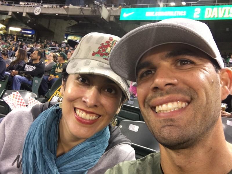 Oakland A's Baseball Game