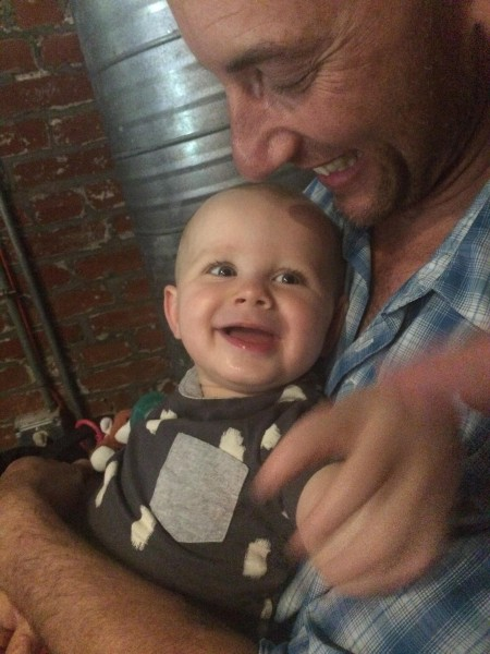 Giggles with Dad