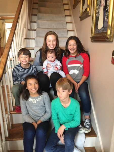 All of the cousins on Melissa's side of the family