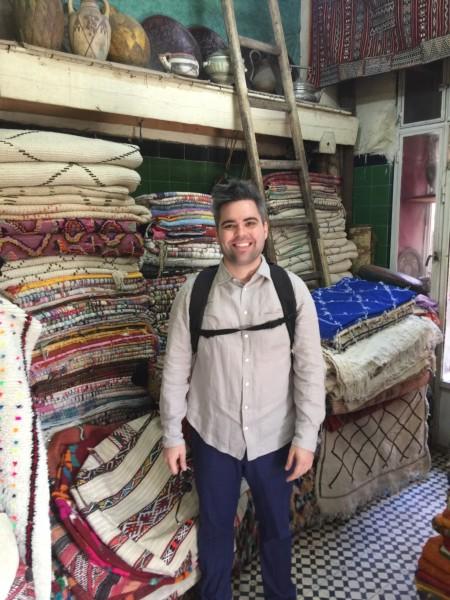 Jimmy in Marrakech