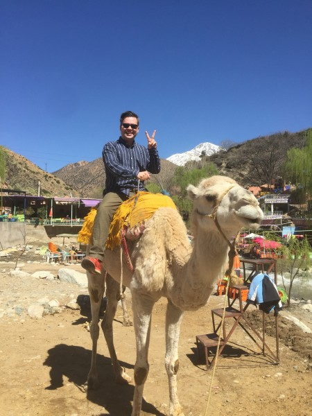 Jimmy in Morocco