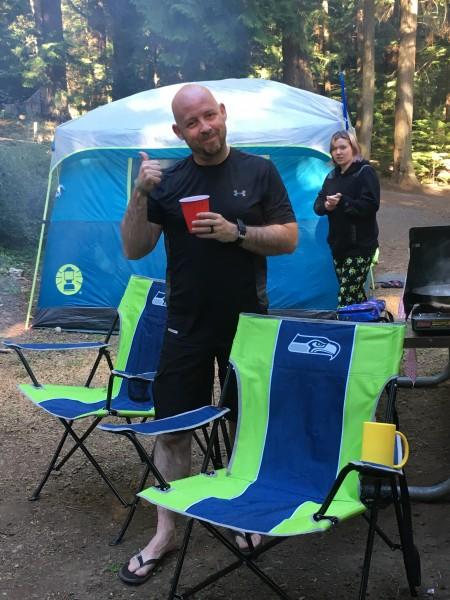 Camping Last Summer