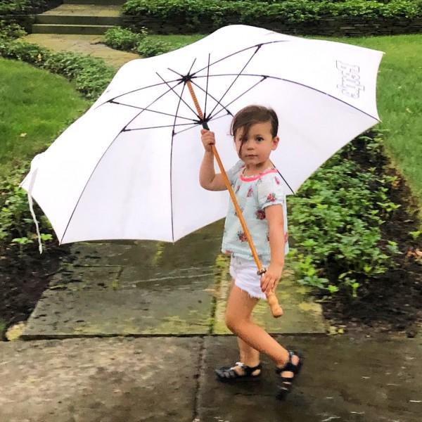 Umbrella might be a little too big!