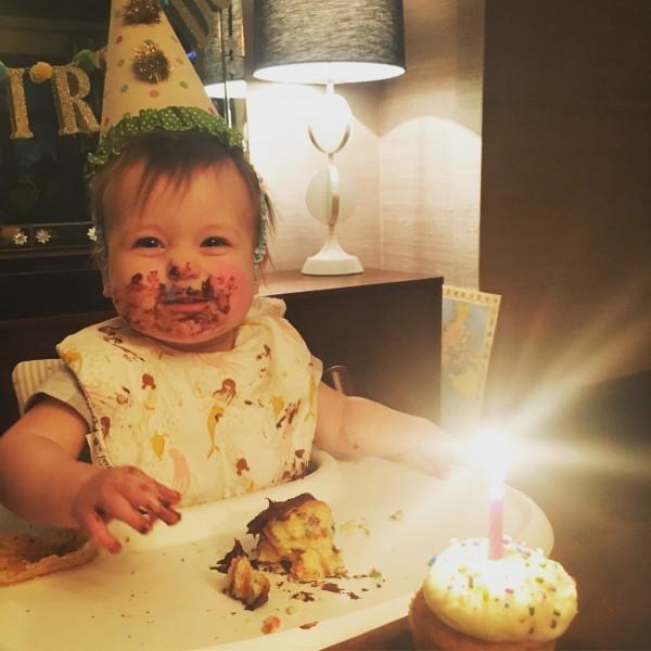 Celebrating her 1st birthday!