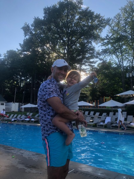 Pool Time with Daddy