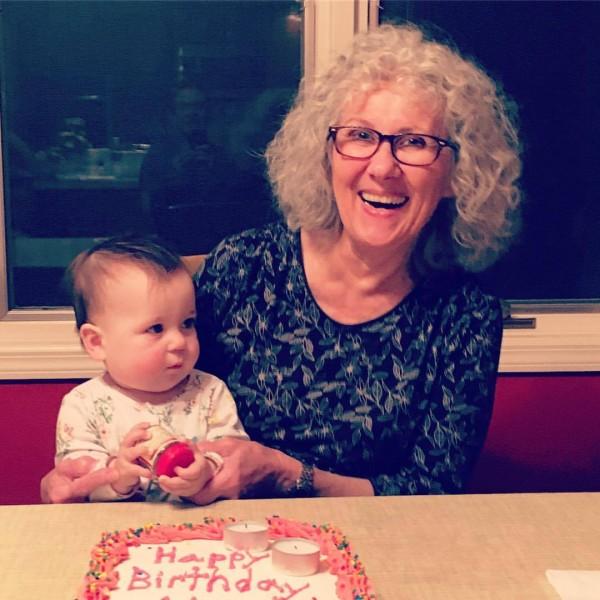 Margot with Grandma F