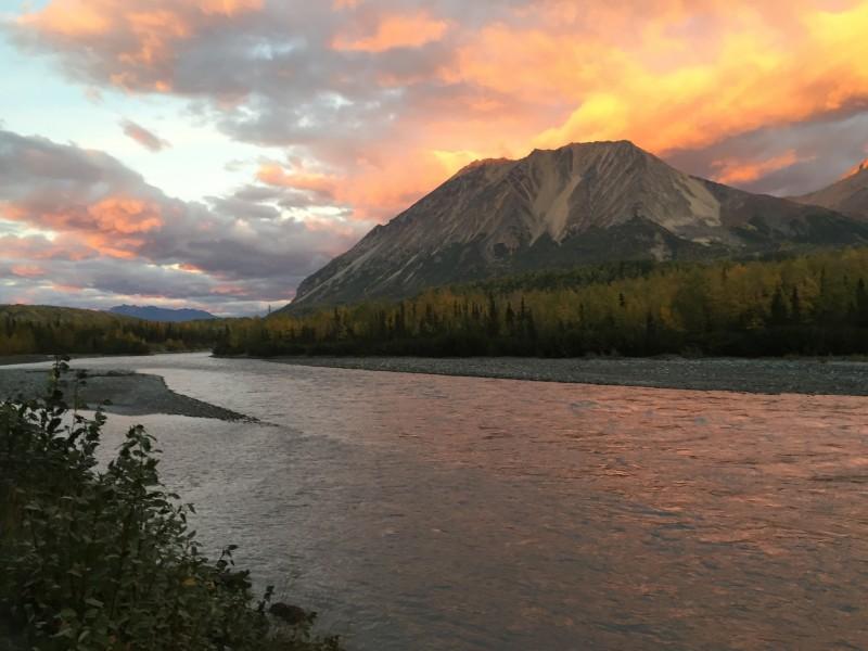 Pretty scenery alaska