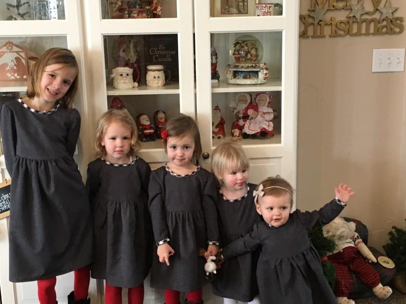Homemade Cousin dresses