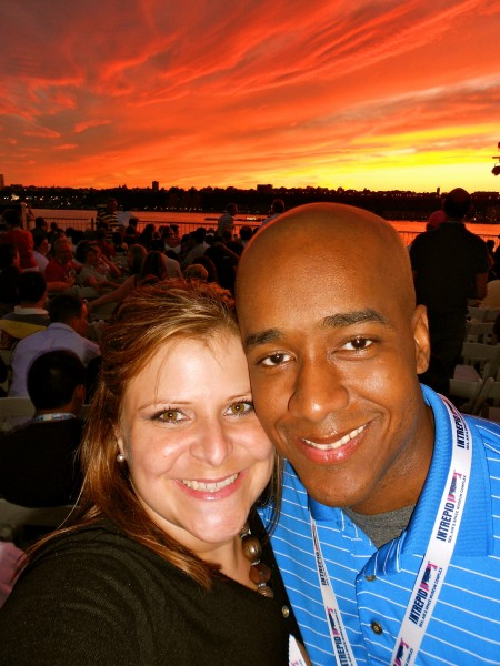Derek took me to watch Macy's 4th of July fireworks the night he told me he loved me for the first time.