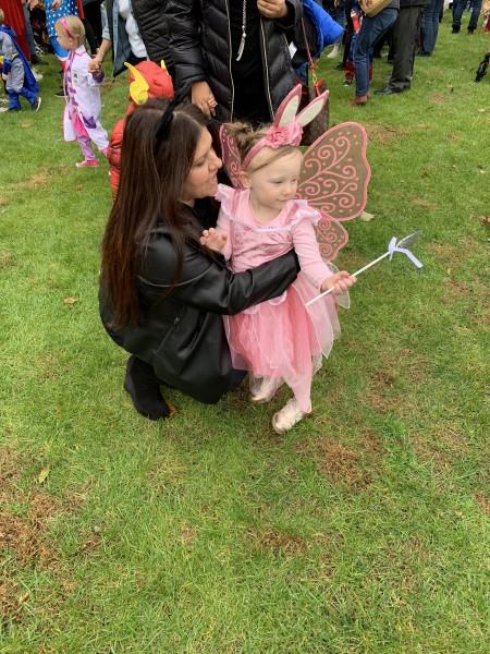 Halloween Parade at Nursery School