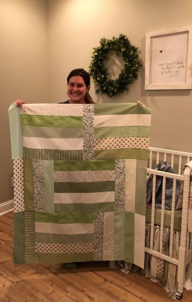 A quilt for the baby!