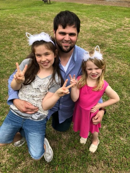 """Daniel is great with our nieces! They love their visits with their """"Uncle Dan Dan!"""""""