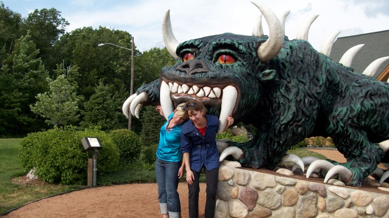 Hodag pic with sis!