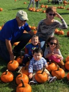 Nanna Poppa and the grandchildren