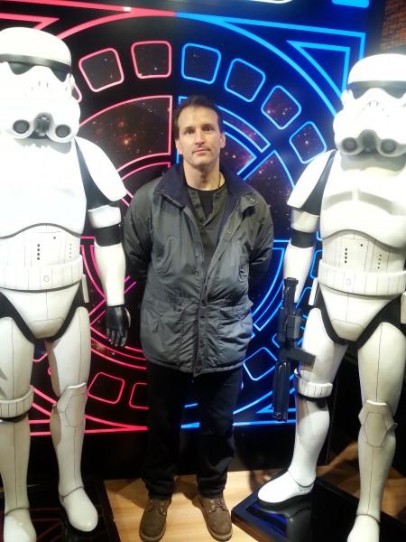 Egan has been captured by Storm Troopers