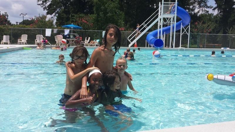 Pool day a few years ago