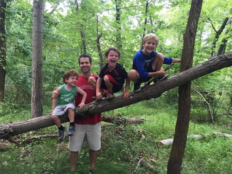 hiking & having fun
