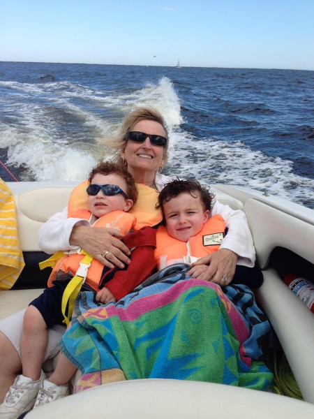 Mom mom, Tristan & Blake