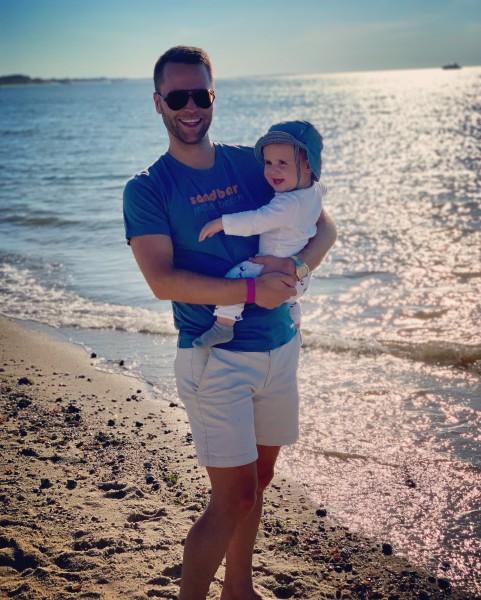 Beach Day!!  11 months old!