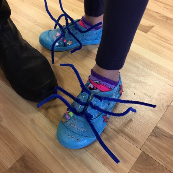 Cool sneakers made & designed by a kid! We support this 100%!