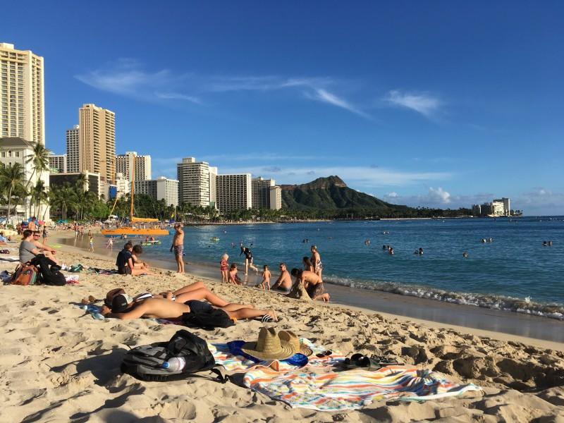 Nov 2018. The beautiful beach at Waikiki.