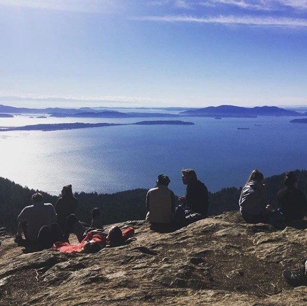 "March 2018. A favorite local hike we call a ""sky beach""."