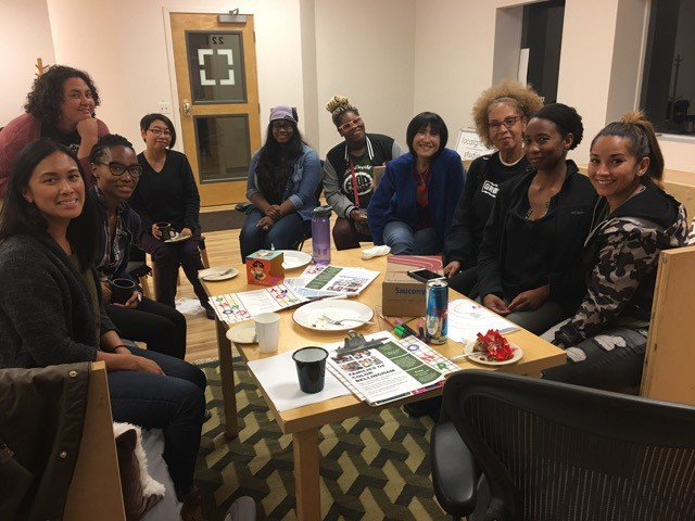 2018. K's monthly women of color group