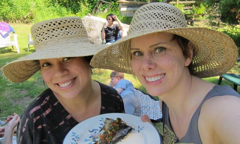 Kristina & our good friend Jodi