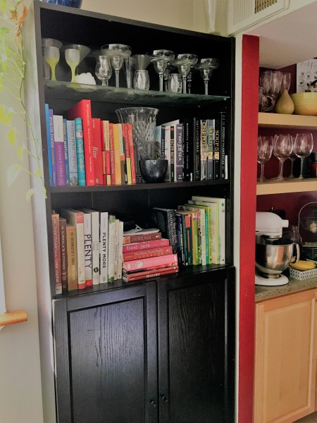 Some would say Dana has too many cookbooks. Dana isn't one of them!