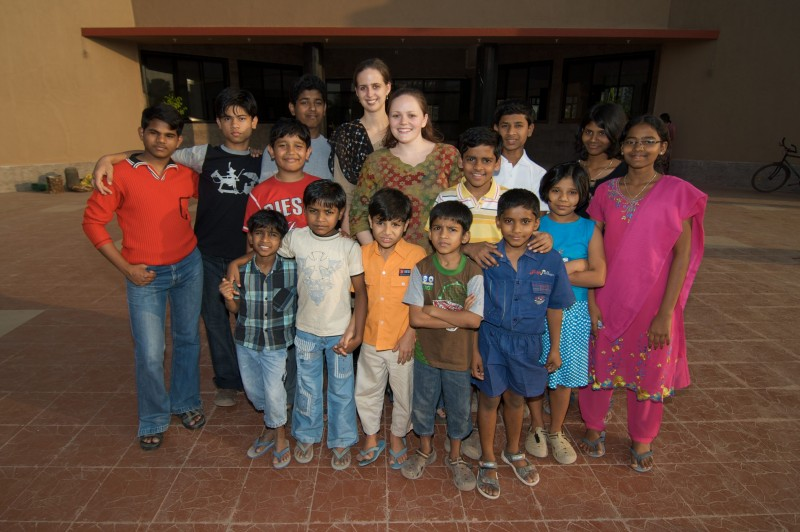 Michelle worked with orphans in India for 4.5 years
