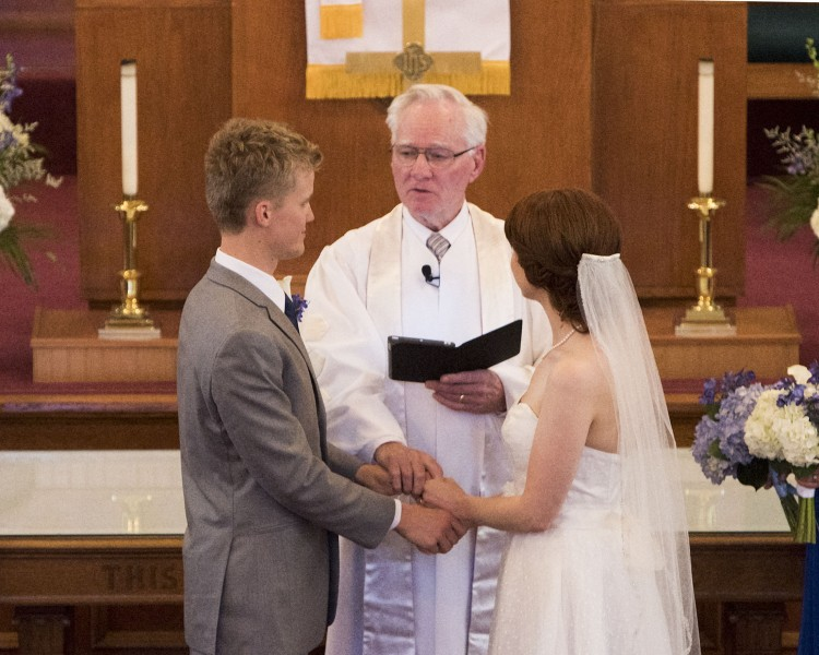 Danny's Grandpa is a pastor, and he married us in 2016. It was really special to have him lead the ceremony.