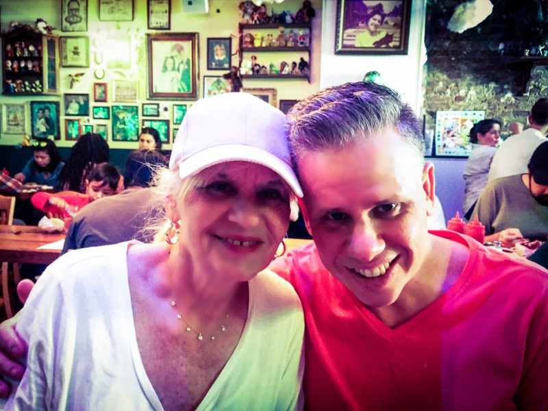 Joe and His Mom