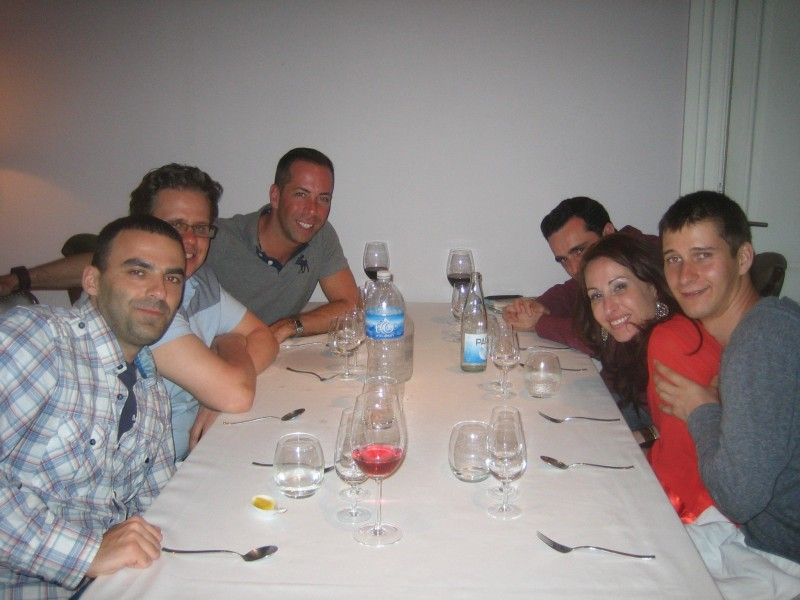 Dinner in Buenoes Aires