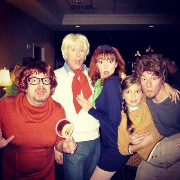 Robert and Friends recreating the Scooby Doo Crew!