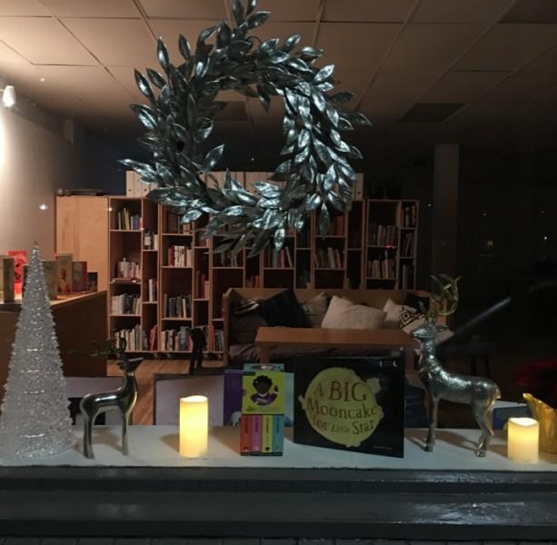 K's shop at night